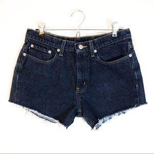 Ralph Lauren | Vintage High Waisted Denim Shorts
